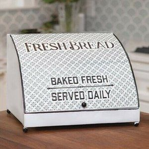 Embossed Fresh Bread Baked Fresh Served Daily Box
